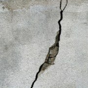 concrete sealant needed for a crack