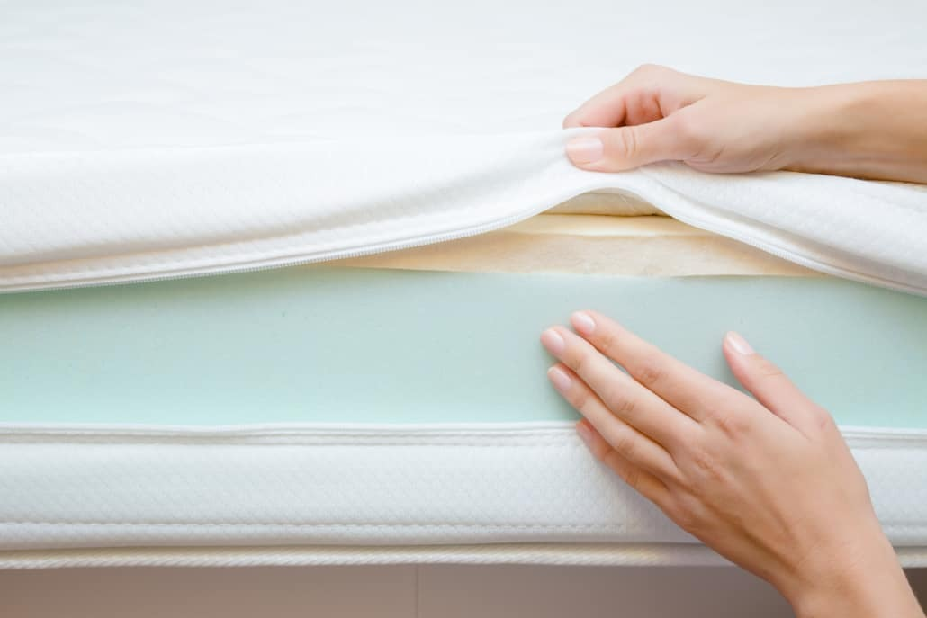 hot melt adhesives for mattresses in different layers