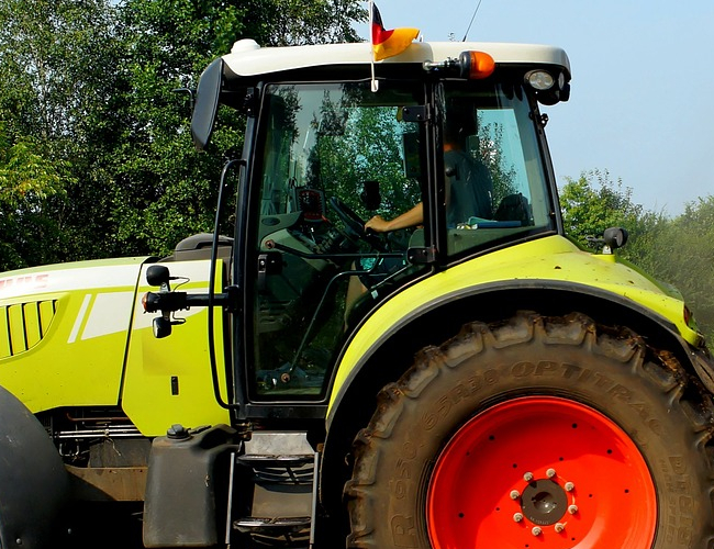 adhesives for tractors in direct glazing