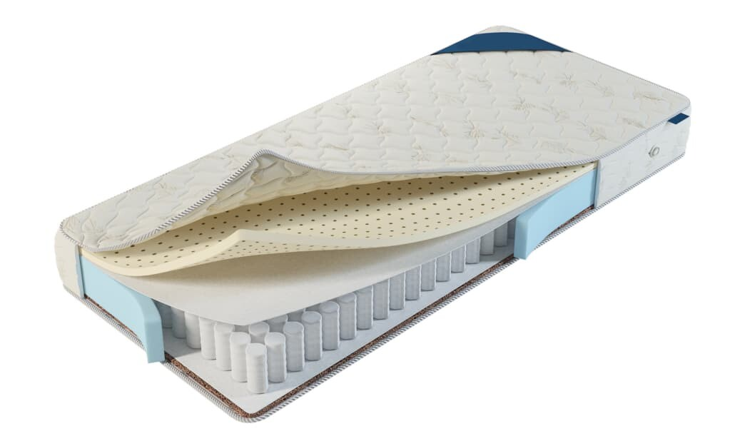 mattress assembly adhesives layer by layer