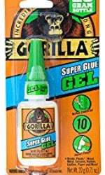 gorilla super glue gel pack