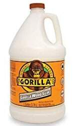 Gorilla 6231501 Gallon Glue, Natural Wood Color