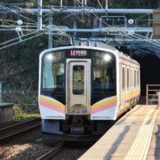 adhesives for antennas in a rail vehicle