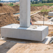sealants for bridge foundation applied to a concrete footing