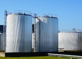Chemical resistant sealants in silos