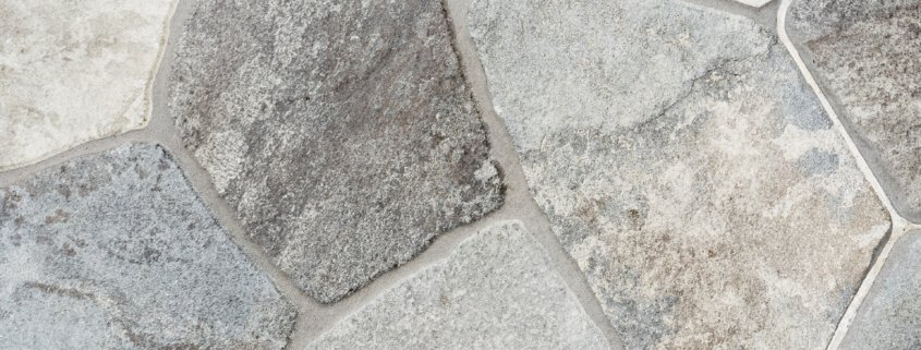 cementitious types of grout for natural stone on a floor