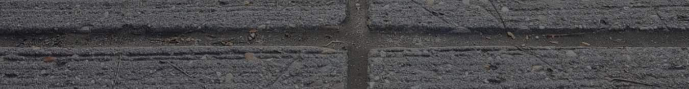 concrete sheets with sealant in the seams