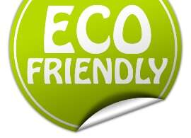 eco friendly label with PSA adhesive