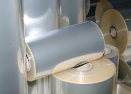 heat seal adhesive on rolled up film