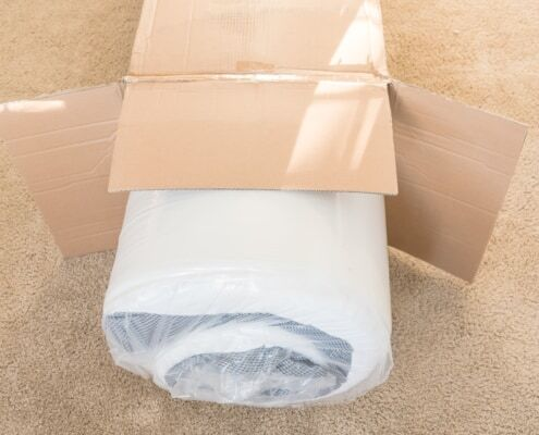 water based mattress adhesive in a mattress packed in plastic South Africa