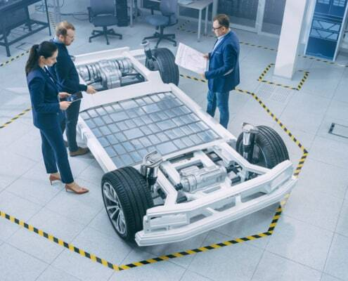 lightweight adhesive planned for electric vehicle